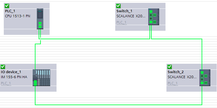 PROFINET: Poprawna konfiguracja MRP wTIA Portal